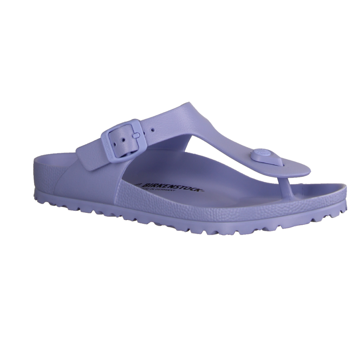 Zehentrenner Damen Birkenstock Gizeh BS 1005301 Dress Blue Birko Flor