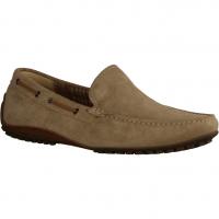 Ganter Kurt 256798-600,Grau Grey (beige) - sportlicher Slipper