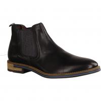 Ganter Kurt 256771-010 Schwarz - ungefütterter Stiefel