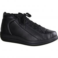 650 Schwarz - ungefütterter Stiefel