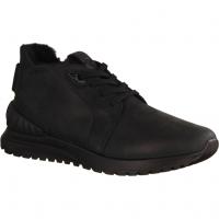 Waldläufer 483901-001 Schwarz - gefütterter Stiefel