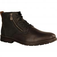 F5521-45 Grau - gefütterter Stiefel