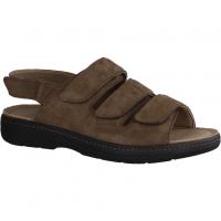 Slowlies 230 Mocca (braun) - Sandale