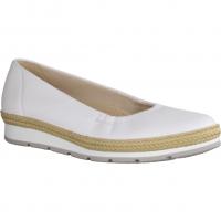 Gabor Comfort 82400-60 Weiß (Jute) - Ballerina Weiß (Jute)