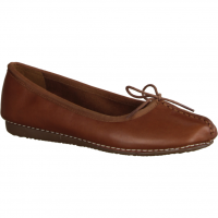 Clarks Freckle Ice,Braun Dark Tan - Ballerina