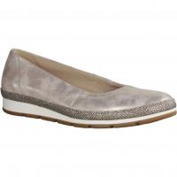 Gabor Comfort 82400-64 Platino (Glamour) (beige) - Ballerina