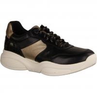 SWX17 Black/Gold (schwarz) - sportlicher Schnürschuh