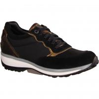 Carrara Black (schwarz) - sportlicher Schnürschuh