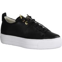 Paul Green 4764-095 Black/Iron (schwarz) - sportlicher Schnürschuh