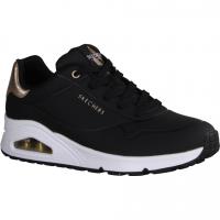 Paul Green 4856-035 Black (schwarz) - sportlicher Schnürschuh