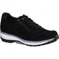 Skechers Flex Appeal First Insight 13070-BBK Black (schwarz) - sportlicher Schnürschuh