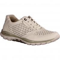 66967-50 Rollingsoft Leans (weiß) - sportlicher Schnürschuh