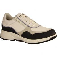 Lima White/Navy (weiß) - sportlicher Schnürschuh