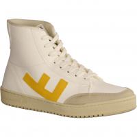 Old 80s White Yellow (weiß) - sportlicher Schnürschuh