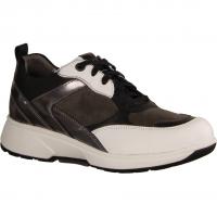 Lunel Grey Kombi (grau) - sportlicher Schnürschuh