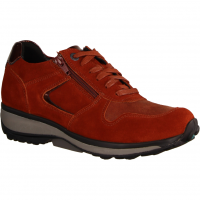 Jersey Red Kerala (rot) - sportlicher Schnürschuh