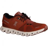 Ecco 8425130127 Bordeaux (rot) - sportlicher Schnürschuh