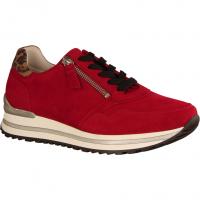 56528-38 Rubin/Savanne (rot) - sportlicher Schnürschuh
