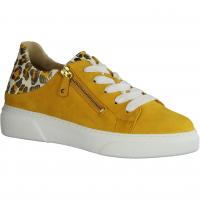 Gabor 43312-13 Mango (gelb) - sportlicher Schnürschuh