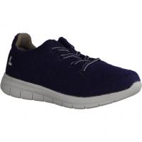 Wonder 6876 Navy (blau) - sportlicher Schnürschuh