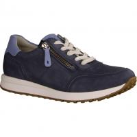 Xsensible Jersey,Blau Navy - sportlicher Schnürschuh