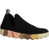 Ecco Soft 7 Ladies 4302435026 Black/Powder (schwarz) - Slipper