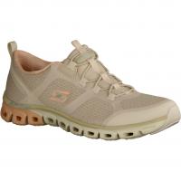 Skechers Glide Step 104195-NTP Natural/Pink (beige) - Slipper