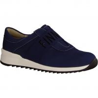 Semler Birgit B6035-075,Blau Navy - Slipper mit loser Einlage