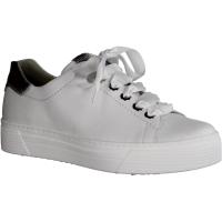 Semler Select Alexa A5015-101 Weiss-Silber (weiß) - Schnürschuh mit loser Einlage