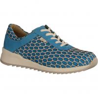 Finn Comfort Cerritos Türkis/Aqua (blau) - Schnürschuh mit loser Einlage