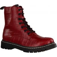 25865-574 Red (rot) - ungefütterte Stiefelette