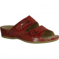 Finn Comfort Ventura-Soft,Rot Atoll - Pantolette mit loser Einlage