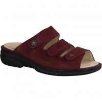 Finn Comfort Menorca-Soft Red (rot) - Pantolette mit loser Einlage