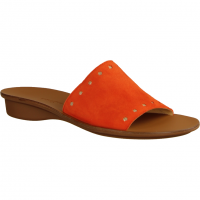 Paul Green 7550-026 Orange/Oro (rot) - Pantolette