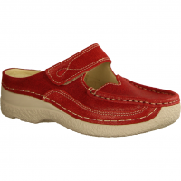 Wolky Roll Slippper 0622715570,Rot Red Summer - Clogs