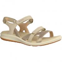 Ecco Cruise II Sonora 8218335086 Silver Grey/Gravel/Rose Dust (grau) - sportliche Sandale