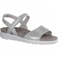 Semler Elli E5015-017,Grigio (grau) - sportliche Sandale