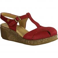Rieker 68851-33 Rot - sportliche Sandale