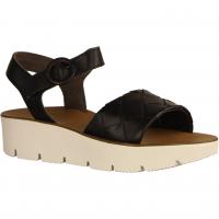 7643-028 Black (schwarz) - elegante Sandale