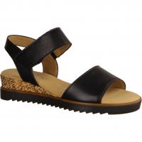 62750-57 Schwarz - elegante Sandale