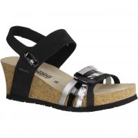 Paul Green 7426-034 Braun,Schwarz - elegante Sandale
