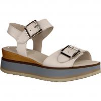 Gabor 64684-21 Weiss/Aquamarin (weiß) - elegante Sandale