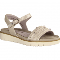 Tamaris 28141-941 Silver. (grau) - elegante Sandale