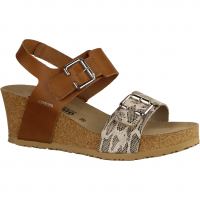 Lissandra Camel (braun) - elegante Sandale