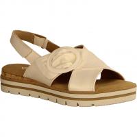 62773-60 Elfenbein (beige) - elegante Sandale
