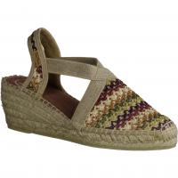 Paul Green 7279-004,hellbraun Sisal (beige) - elegante Sandale