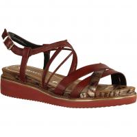 28207-540 Granata Combi (rot) - elegante Sandale