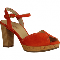 Paul Green 7548-046 Orange (rot) - elegante Sandale