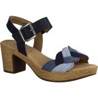 Gabor Comfort 22832-90 Blau Mare,Blau - elegante Sandale