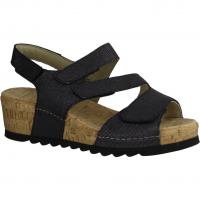 Semler Ramona R9045-001 (schwarz) - Sandale mit loser Einlage